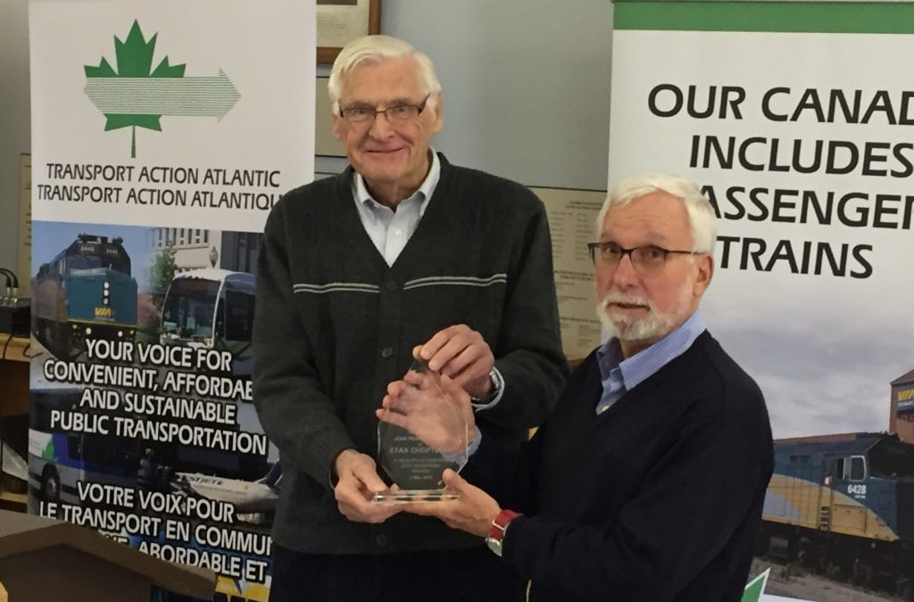 Transit advocate wins 2018 John Pearce Award