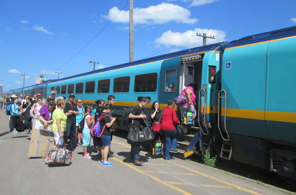 Our Canada includes passenger trains…and it doesn't end at Quebec City.