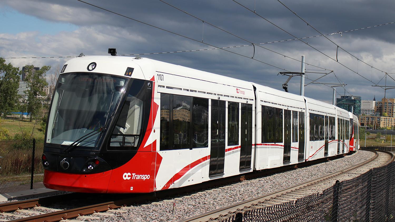 OC Transpo Confederation Line LRV 1107